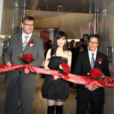 Re-opening of Omega Canton Road Flagship Store